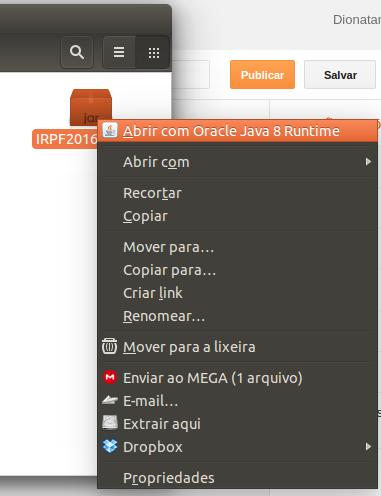 Instalando o App da Receita no Linux