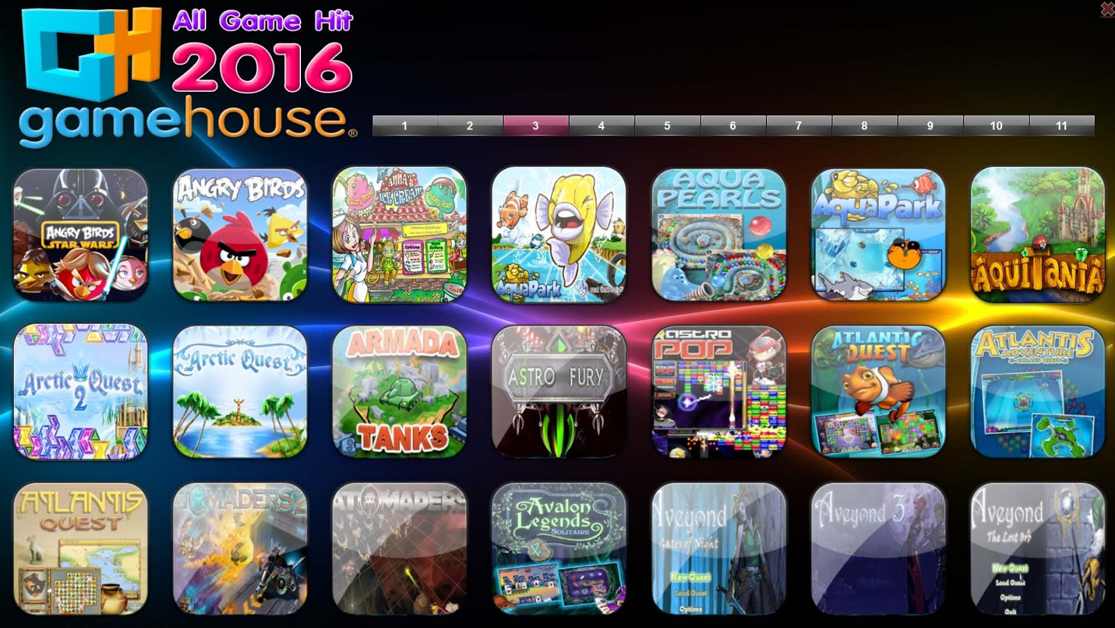 Daftar Game House