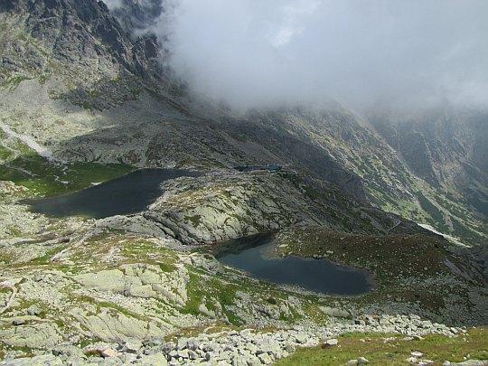 Widok z Pięciostawiańskiej Kopy na Dolinę Pięciu Stawów Spiskich