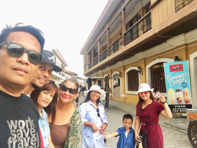Calle Crisologo Vigan City Ilocos Sur Philippines