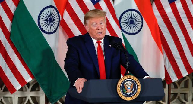 ترامب: الرسوم الجمركية في الهند ربما هي الأعلى في العالم