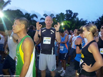 Start of the Laguna Phuket half marathon
