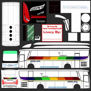 Livery Sinar Jaya Skyliner