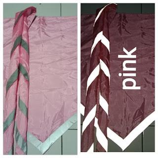 Scarf Pramuka Bercahaya Pink