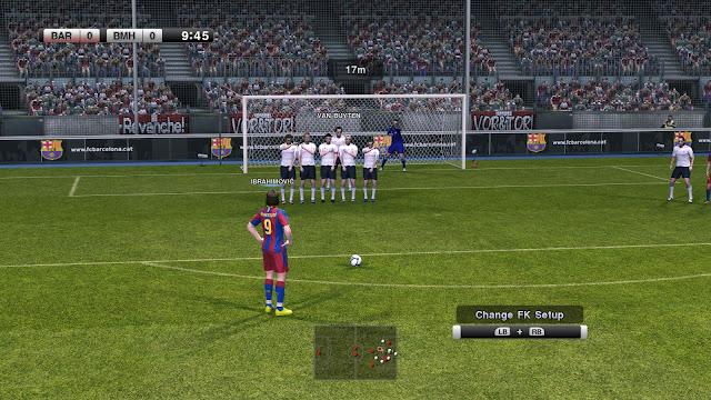 Pro Evolution Soccer 2011 (PES 11) PC Download Full Version Screenshot 1