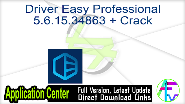 Driver Easy Professional 5.6.15.34863 + Crack