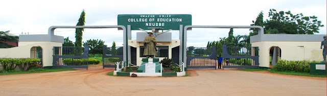 Nwafor Orizu College of Education Nsugbe Post UTME form