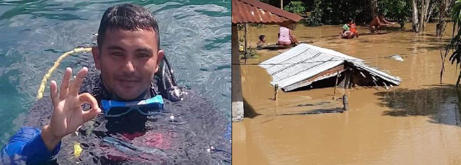 Rescuer sa Cagayan, nasawi matapos makuryente habang tumutulong sa pagsagip ng mga residente