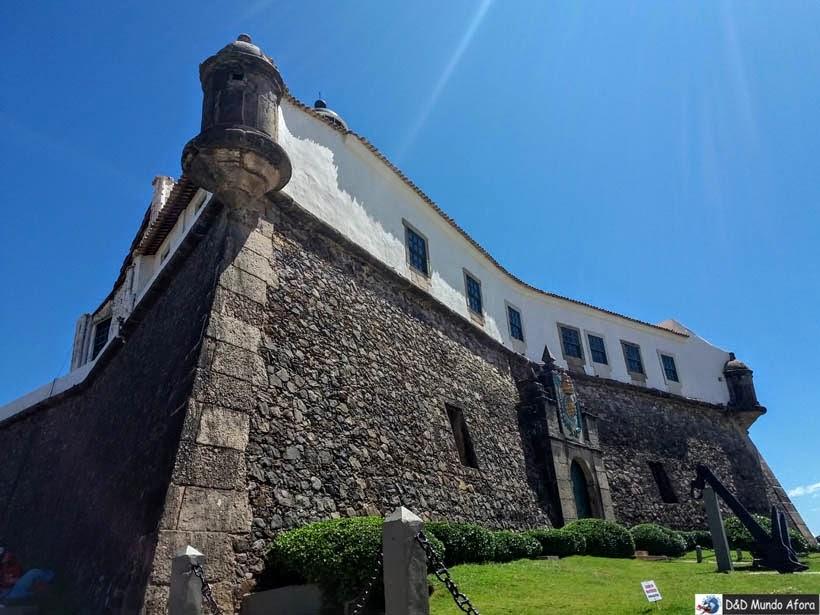 O que fazer em Salvador - Forte de Santo Antônio da Barra