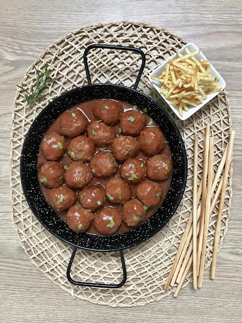 ALBÓNDIGAS EN SALSA BARBACOA o BBQ ¡Receta Fácil CROCKPOT y Tradicional!