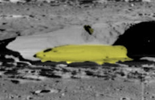 Nave alienígena de 5 km encontrada estacionada en un cráter lunar, fuente de la NASA  Fotos, noticias de avistamiento de ovnis.