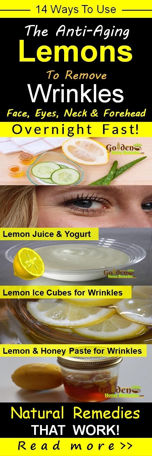 Lemon For Wrinkles, Lemon And Wrinkles, How To Get Rid Of Wrinkles, Home Remedies For Wrinkles, How To Use Lemon For Wrinkles, Is Lemon Good For Wrinkles, Face Wrinkles, Neck Wrinkles, Eyes Wrinkles, Wrinkles Treatment