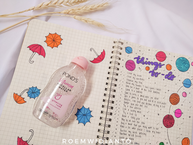 Pond's Vitamin Micellar Water Brightening Rose