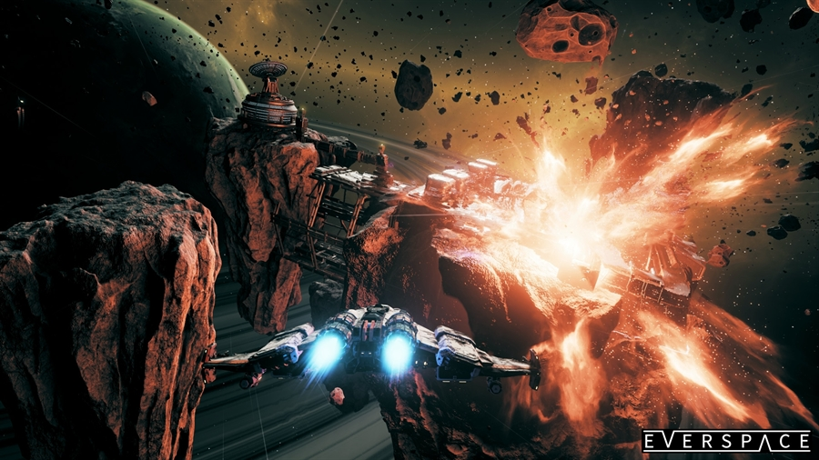 EverSpace PC Game Free Download Poster