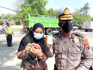 Polrestabes Semarang Lakukan Penyekatan Khusus 4 Lokasi diperbatasan Kota Semarang