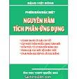 Chuyên đề nguyên hàm, tích phân và ứng dụng – Đặng Việt Đông