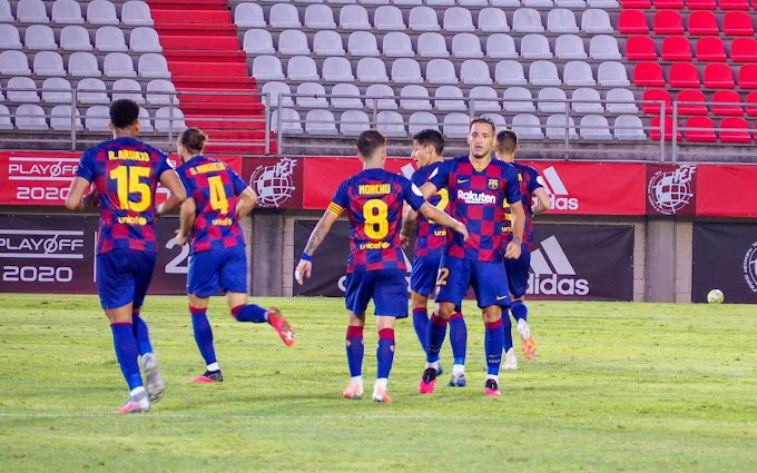 Segunda division Promotion: Barcelona B defeat Badajoz to reach playoff final