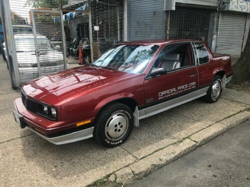 Mint Condition: 1985 Oldsmobile Cutlass Calais Indy 500 Pace Car