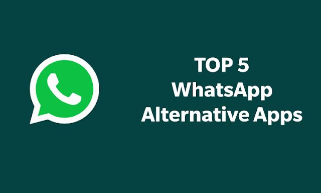 WhatsApp is down Alternative apps