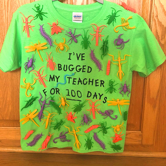 I've Bugged My Teacher for 100 Days - Funny 100 days of school shirt