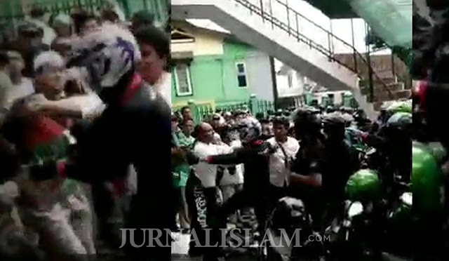 Peserta Aksi Bela Uighur Wonosobo Diserang Saat Hendak Shalat Dzuhur