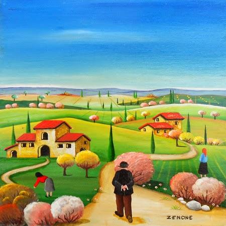 Zenone Emilio ~ Arte Naif
