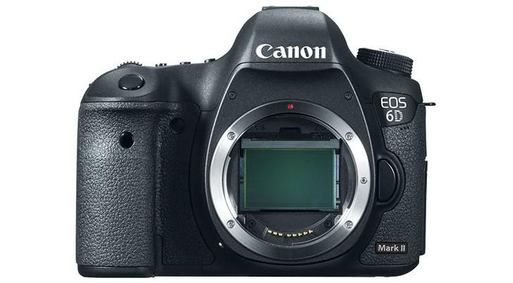 Возможный внешний вид Canon EOS 6D Mark II