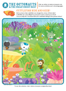 Octonaut printable activities