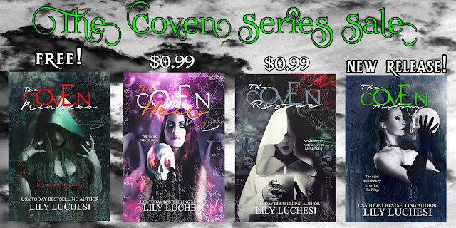 "Start reading ""The Coven Series"" by Lily Luchesi for free!"