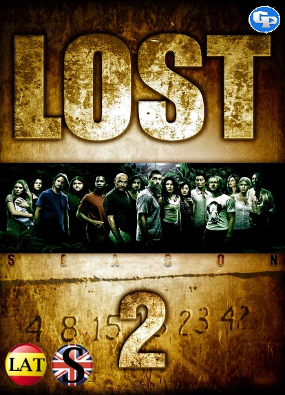 Lost (Temporada 2) HD 1080P LATINO/INGLES