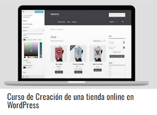 Curso de Creación de una tienda online en WordPress