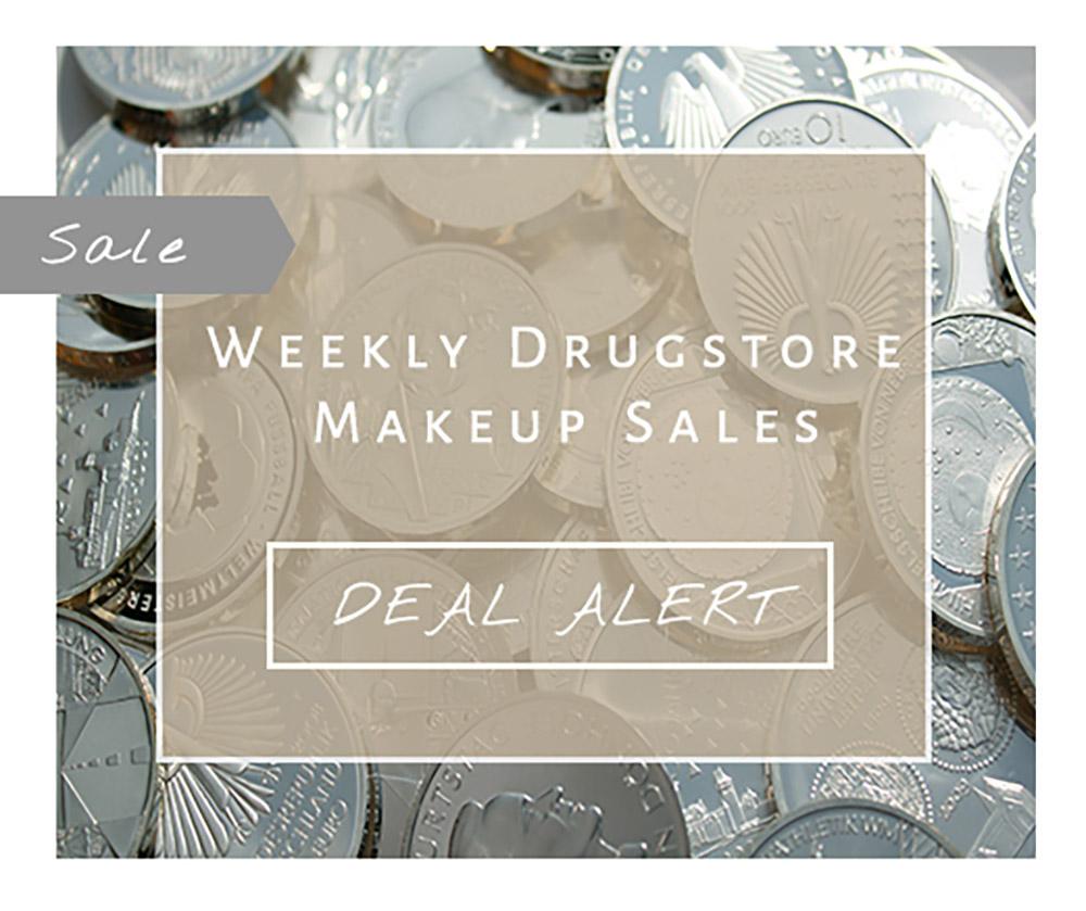 Weekly  drugstore makeup deals