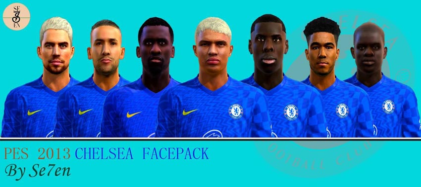 Chelsea Facepack 2021 For PES 2013