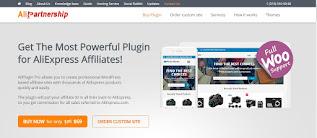 اضافة علي اكسبريس Aliplugin ع على ووردبريس وهي افضل اضافة لـ التسويق بالعمولة مع موقع aliexpress.