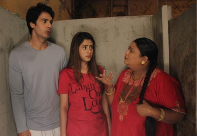 Elaichi Pancham and Karuna on Sony SAB's Jijaji Chhat Per Hain