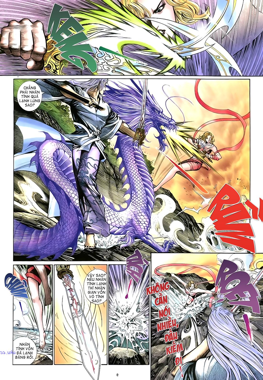 Anh hùng vô lệ Chap 17 trang 10