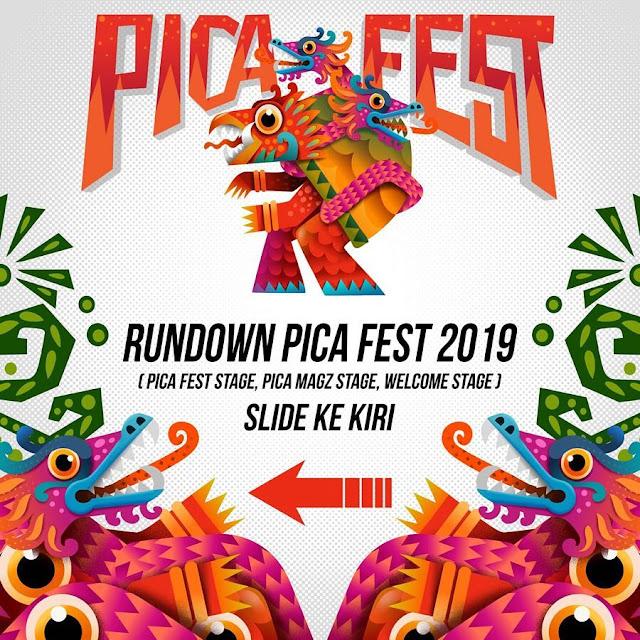 Pica Fest 2019 Berlokasi di Tempat yang Berbeda