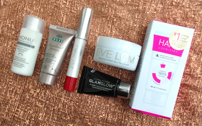 image of beauty products in Look Fantastic November Beauty Box