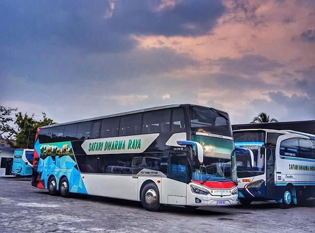 Bus jurusan Lombok