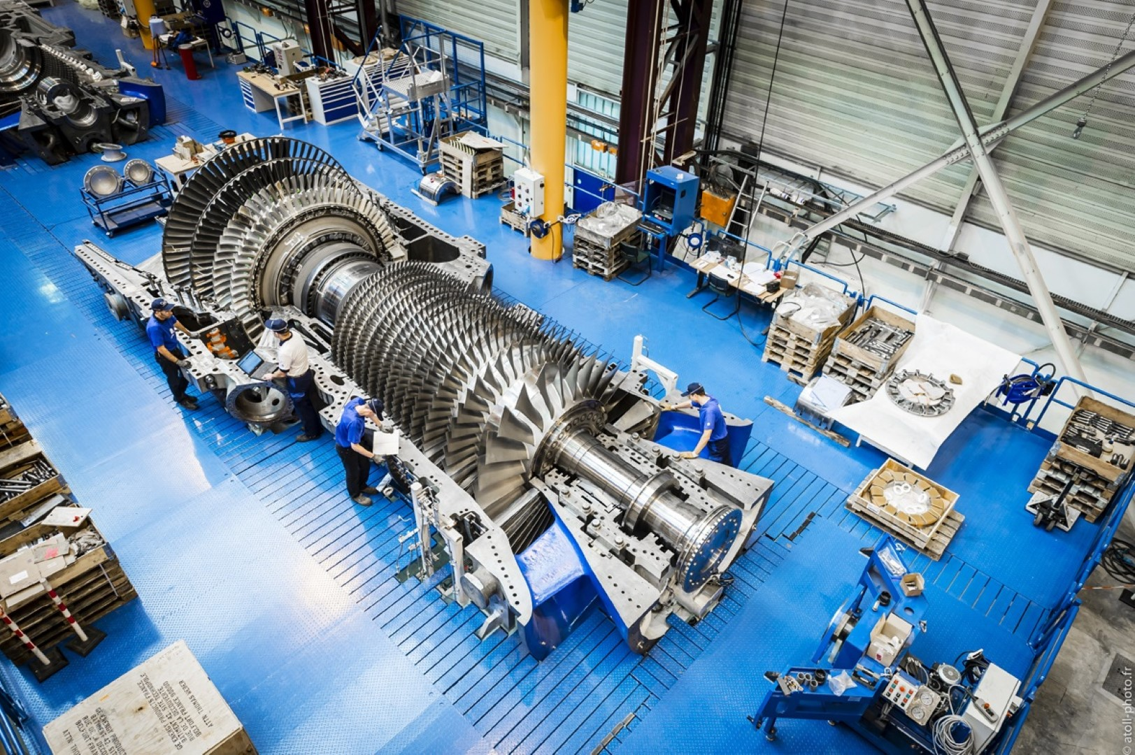 First GE HA turbines to be installed at UAE Power Plant