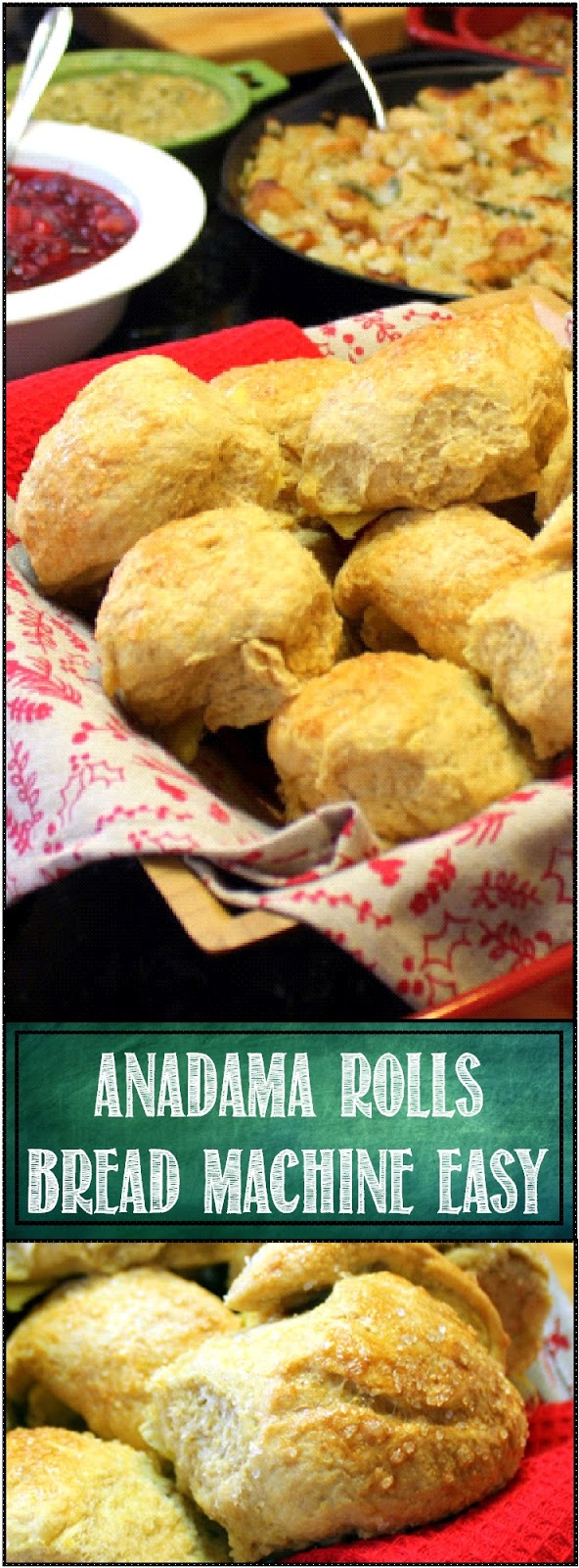 52 Ways to Cook: Anadama Rolls Bread Machine EASY - 52 ...