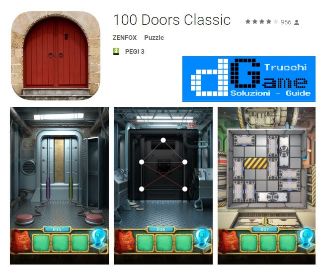 Soluzioni 100 Doors Classic di tutti i livelli | Walkthrough guide