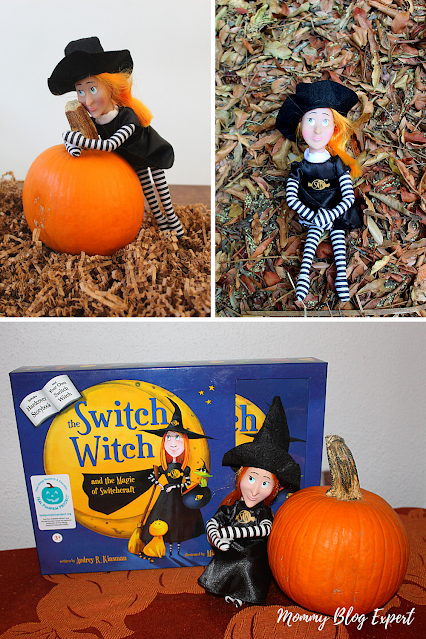 Switch Witch Halloween Book Doll Set