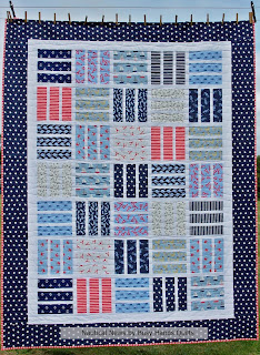 Nautical News Quilt Pattern by Myra Barnes