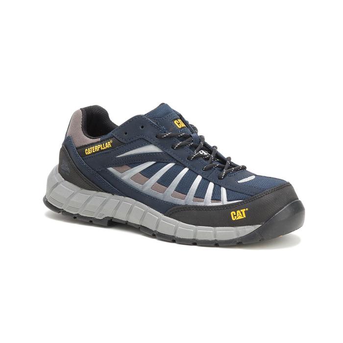 Sepatu Safety Caterpillar Infrastructure ST Navy Original
