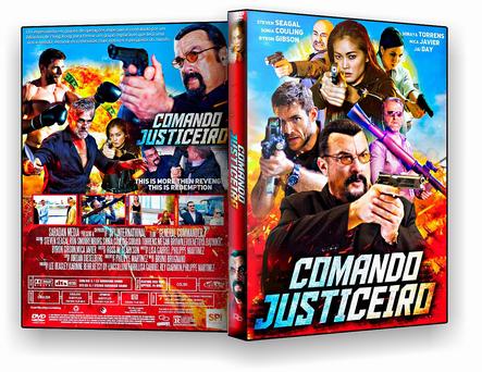 DVD COMANDO JUSTICEIRO 2019 - ISO