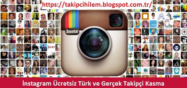 İnstagram Ücretsiz Gerçek Türk Takipçi ve Beğeni Kasma