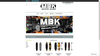Criação de Loja Virtual para Produtos Desportivos
