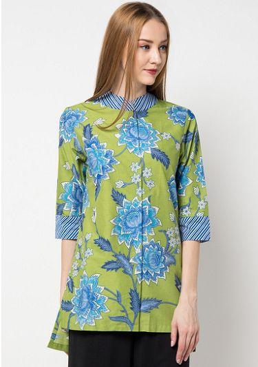 20 Model Baju Batik Wanita Danar Hadi Terbaru 2019 1000 Model