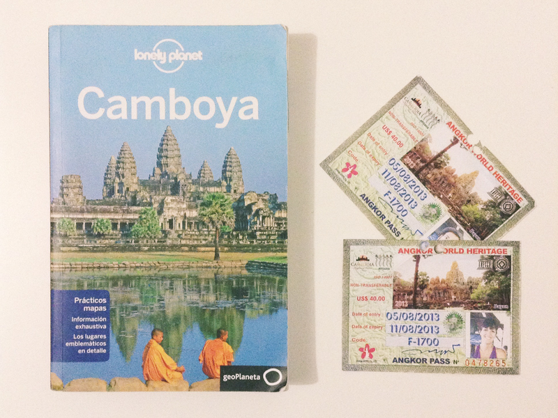 Pases Angkor Lonely Planet Camboya